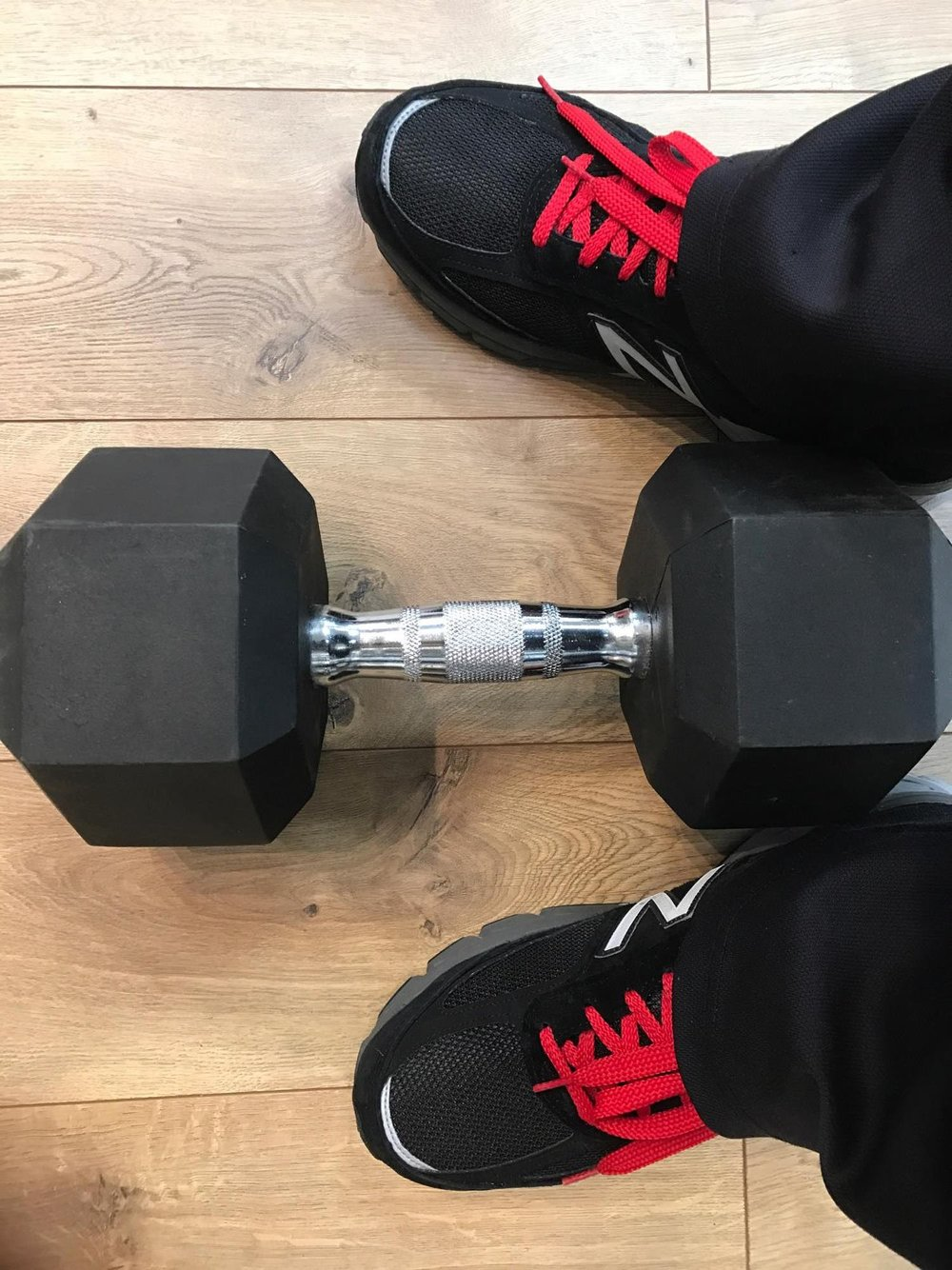 Right Shoes and Weight