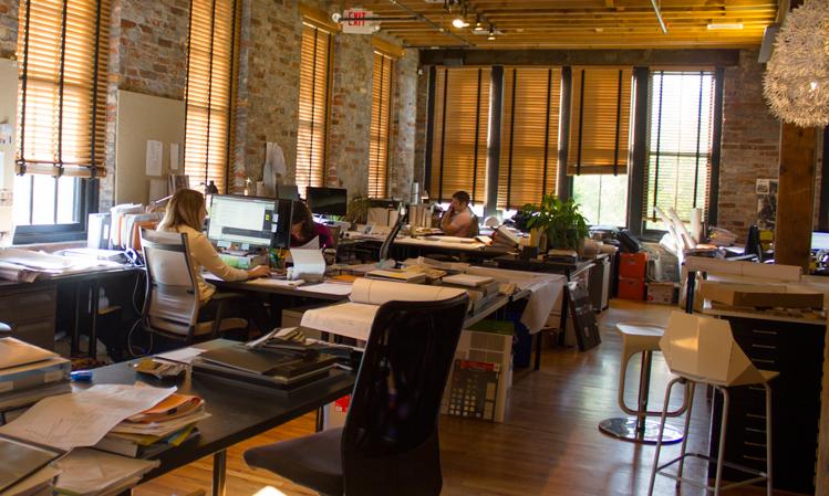 City Studios Architecture workspace