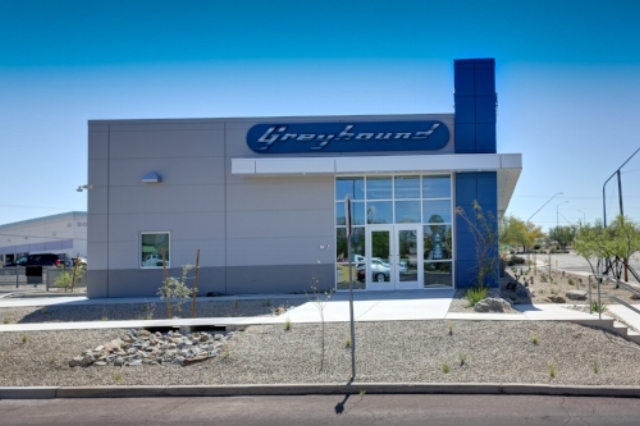 The Tucson, AZ terminal, the latest new facility in Greyhound's network, opened on March 15, 2017.
