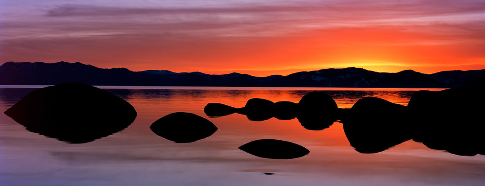 Bonsai Sunset, Lake Tahoe