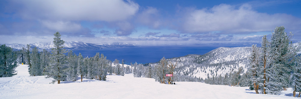 Spring Skiing, Heavenly, Lake Tahoe