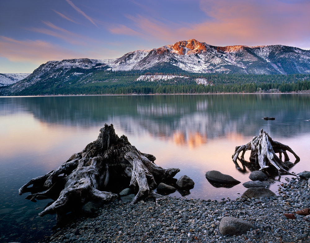Ancient Shoreline, Alpenglow, Mount Tallac