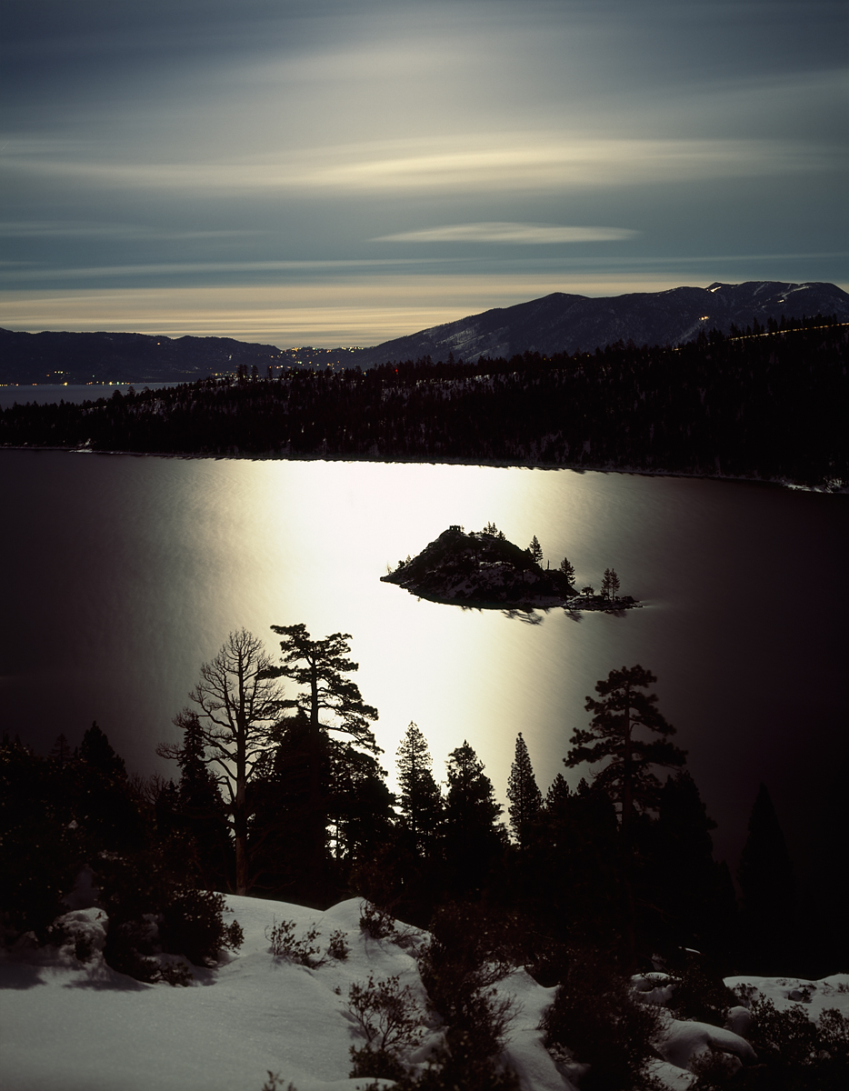 Emerald Bay Moonlit, Lake Tahoe