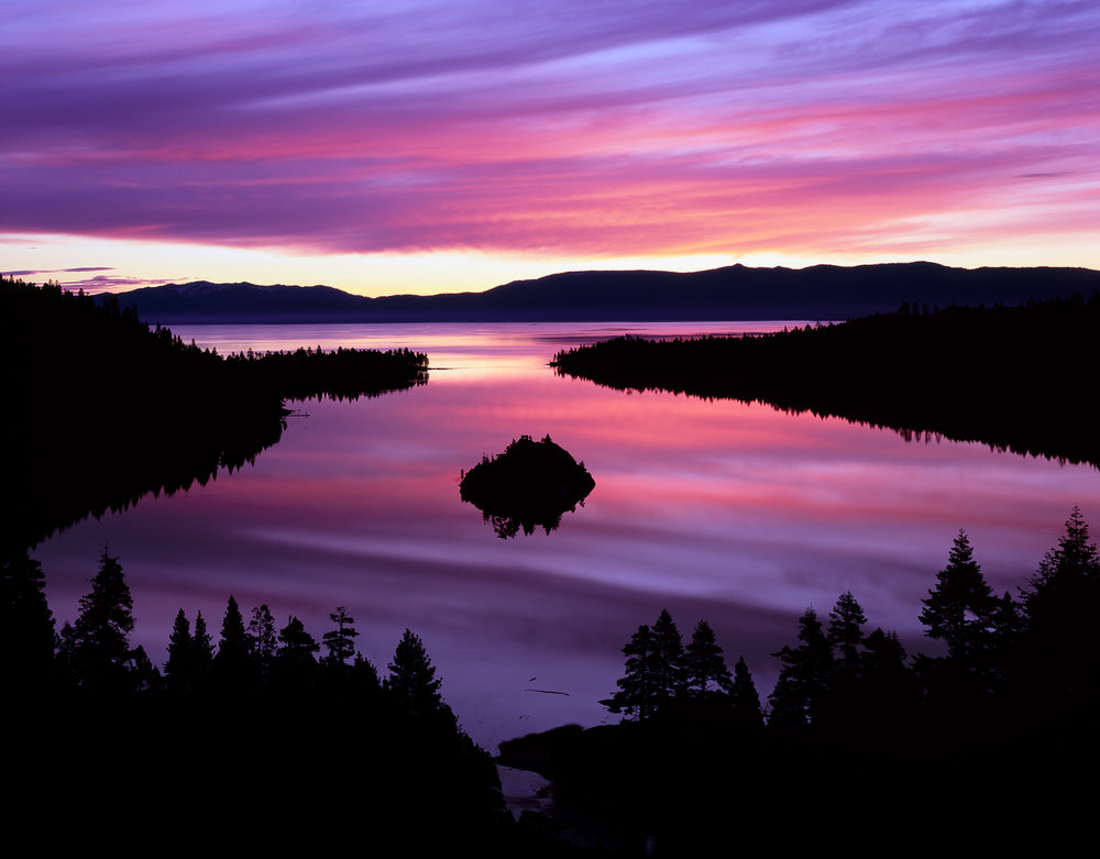 Emerald Bay Sunrise Reflection, Lake Tahoe