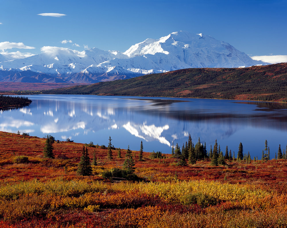Wonder Lake Reflection, Denali