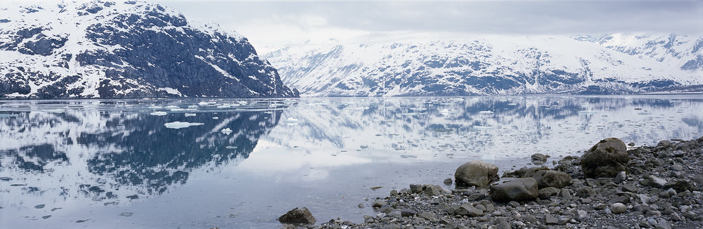 Glacier Bay Mirror, Johns Hopkins Inlet, Alaska