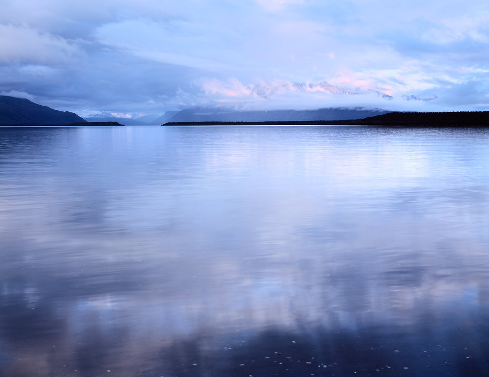 Cloudy Reflections, Naknek Lake, Katmai, Alaska