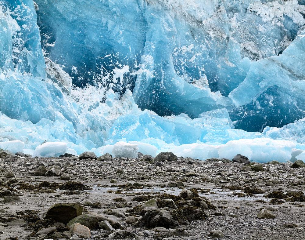 Lamplough Glacier Blue, Glacier Bay, Alaska