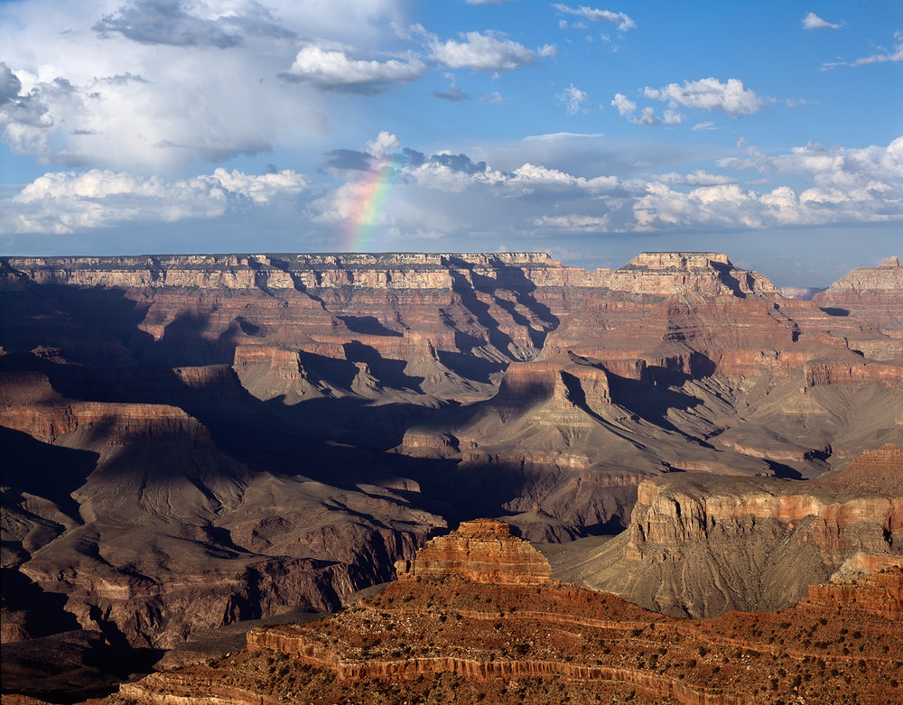Rainbow Over Grand Canyon, Arizona