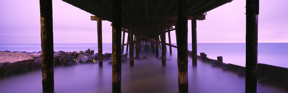 Purple Tide, Newport Beach Pier, California
