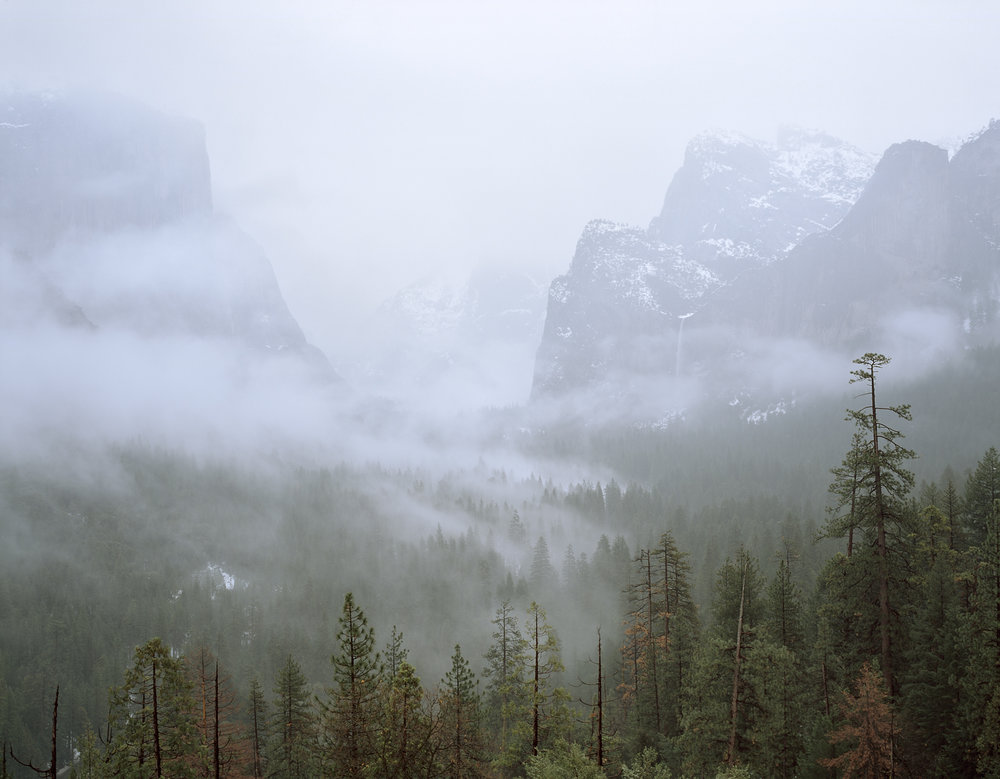 Winter Mist, Yosemite Valley, California