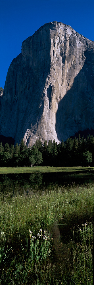 El Capitan and Iris Panorama, Yosemite Valley, California