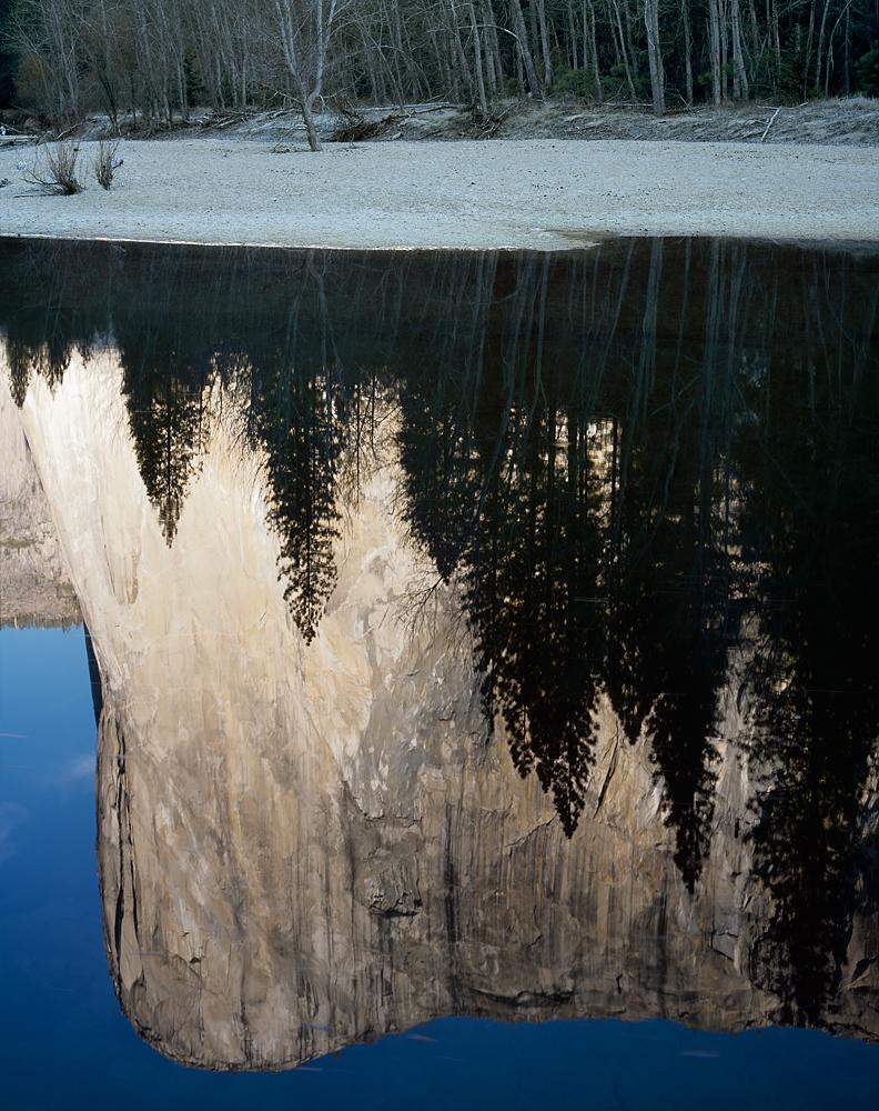 El Capitan Reflection, Yosemite Valley, California
