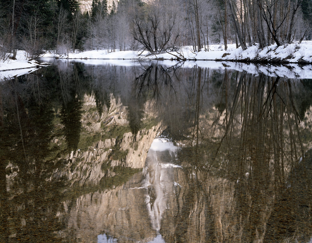 Merced Reflections, Yosemite Valley, California