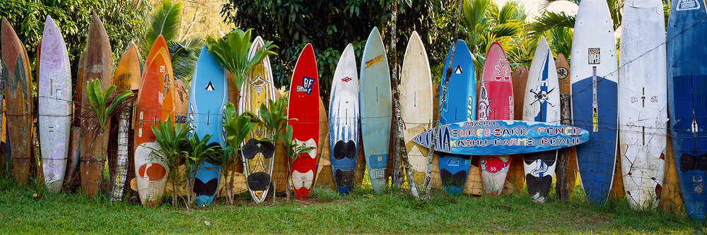 Surfboard Fence, Maui, Hawaii