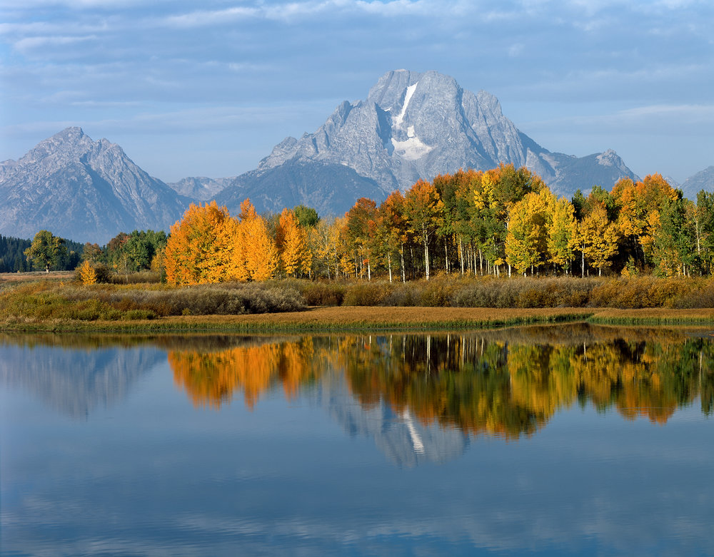 Mount Moran Reflection, Oxbow Bend, Grand Tetons