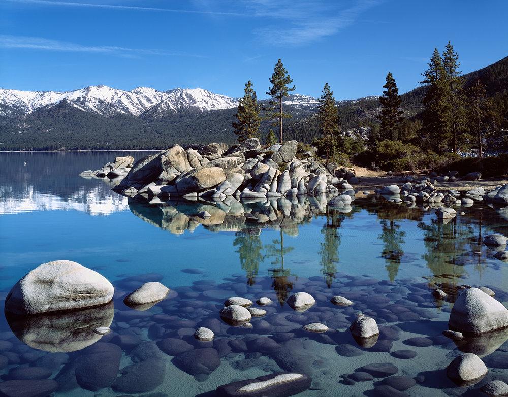 Sand Harbor Reflections, Lake Tahoe