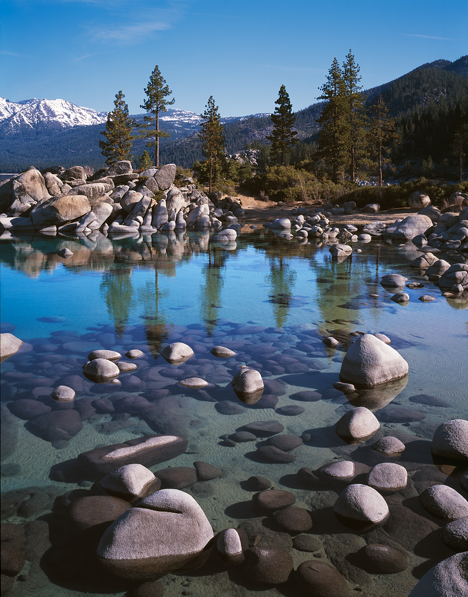 Sand Harbor Reflections II, Lake Tahoe