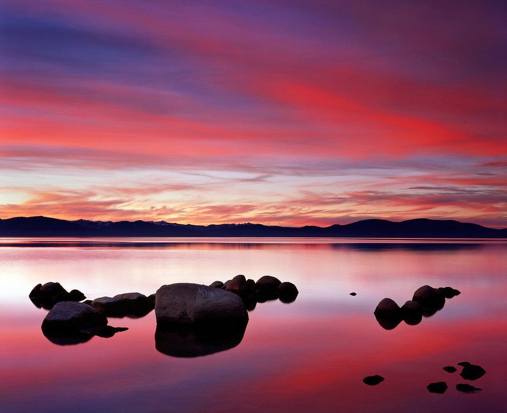 Logan Shoals Sunset, Lake Tahoe