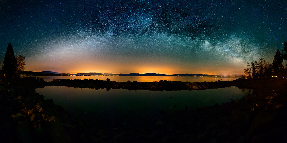 Milkyway Over Lake Tahoe