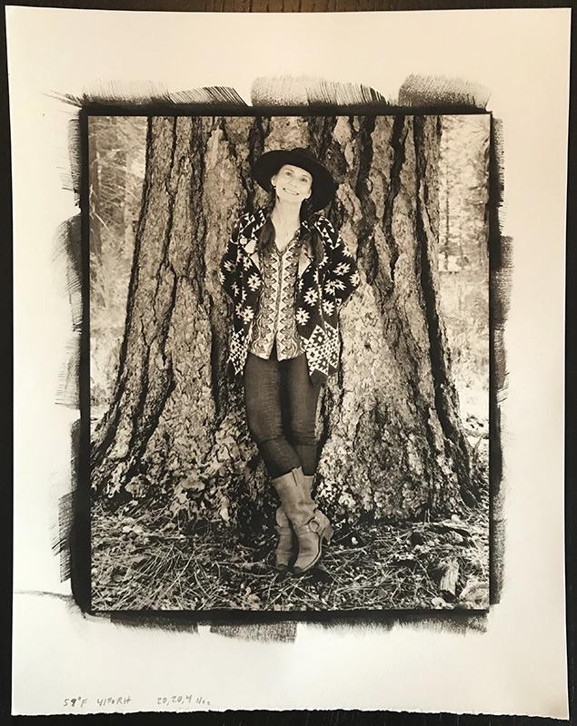 Platinum / Palladium print Captured on 4x5 inch film