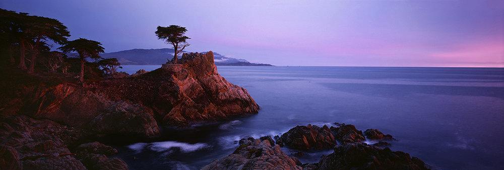Lone Cypress Sunset Panorama.jpg