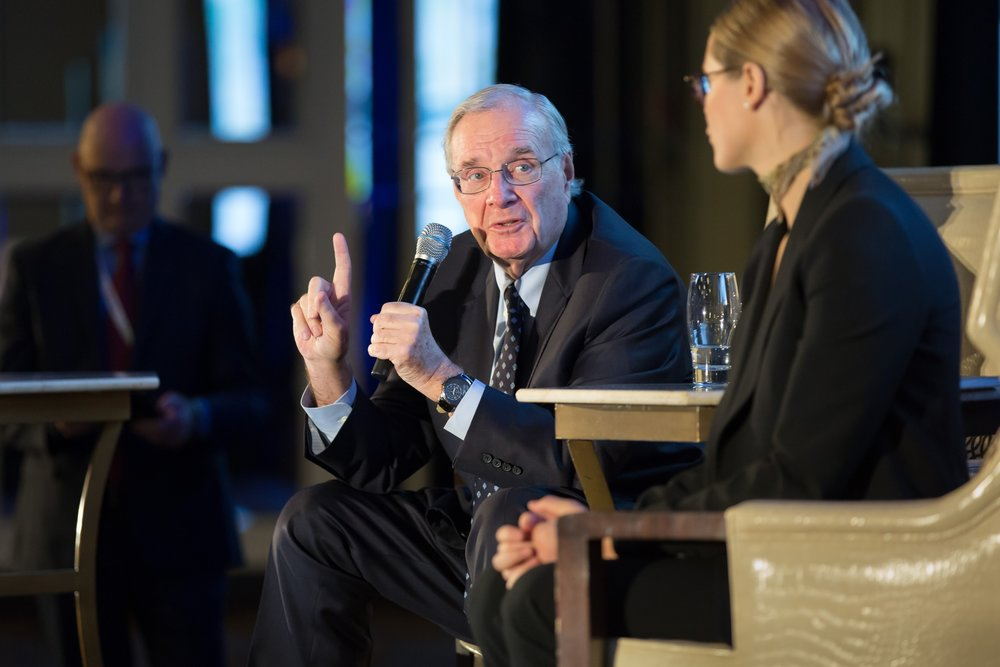 The Right Honourable Paul Martin and Chloe Mills - CAPHC Conference Keynote Presentation. Photo: Dufour/Egan