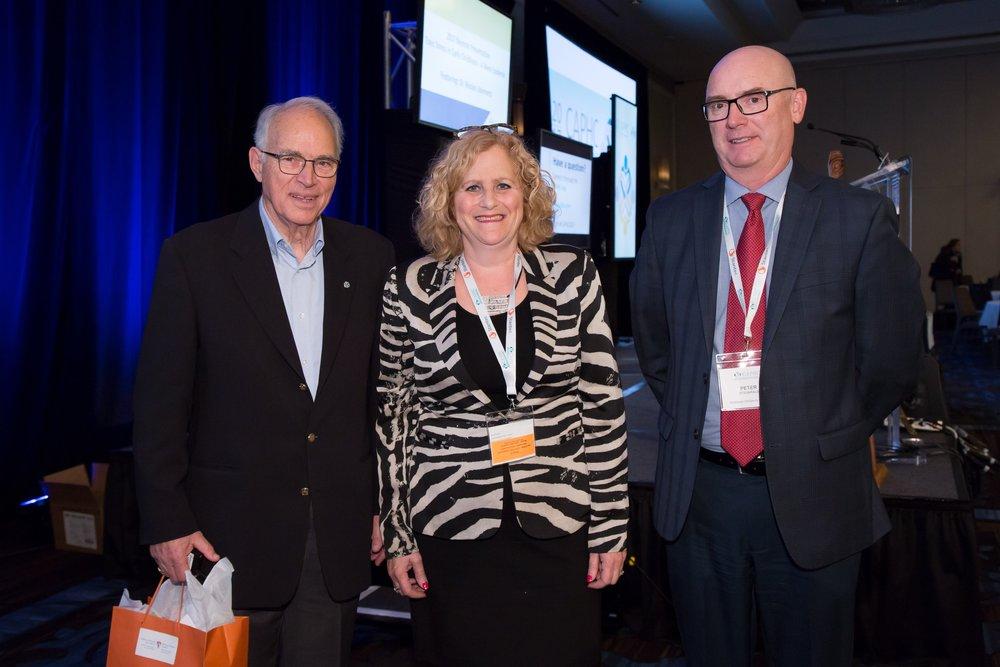 Dr. Nicolas Steinmetz, Randy Robins, Dr. Peter Fitzgeralg.Photo: Dufour/Egan