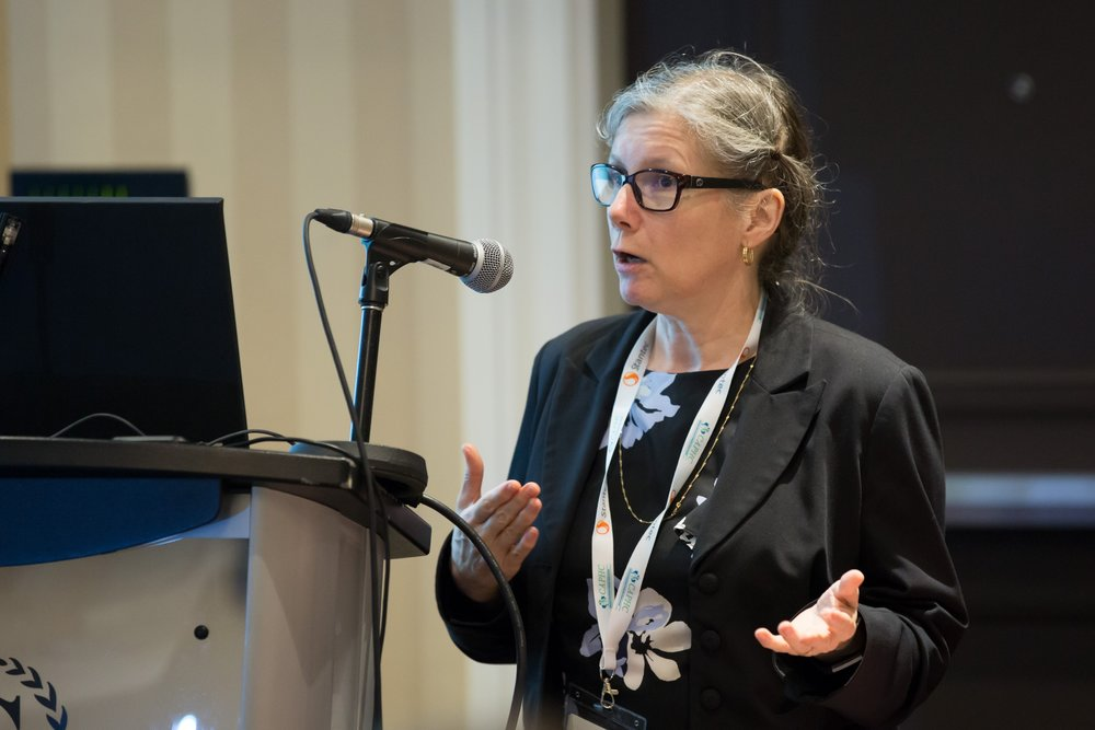 Dr. Christina Vadenboncoeur speaking at the Concurrent Session  Medical Assistance in Dying: Exploring Potential Implications for Paediatrics.  Photo: Dufour/Egan