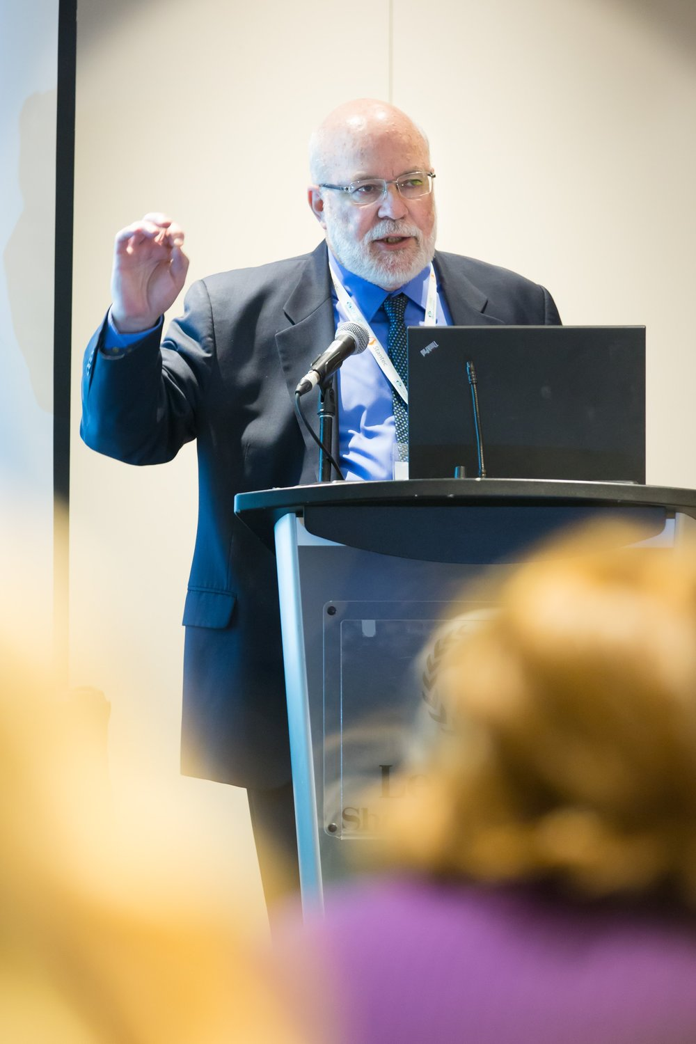 Frank Gavin presenting at the Concurrent Session  CHILD-BRIGHT's Challenge to You: How Can You Move Beyond Good Intentions?  Photo: Dufour/Egan