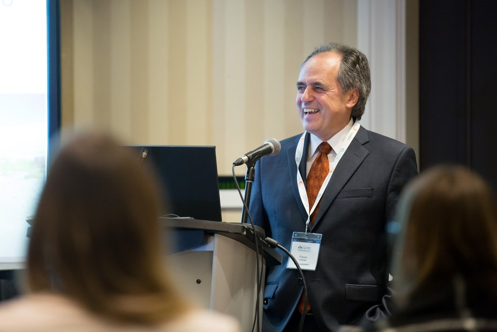 Franco Carnevale speaking at the Concurrent Session  Medical Assistance in Dying: Exploring Potential Implications for Paediatrics.  Photo: Dufour/Egan