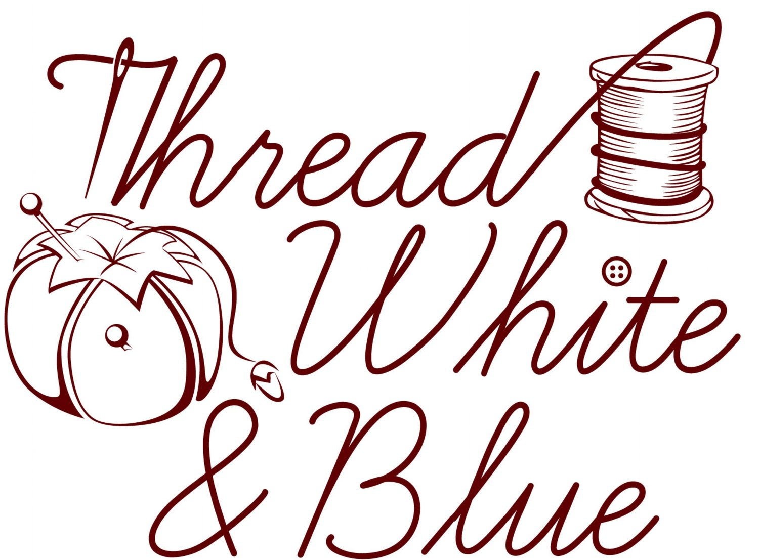 Thread White & Blue
