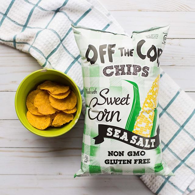 Off the Cob, organic sweet corn tortilla chips, healthy snack options, online farmer's market