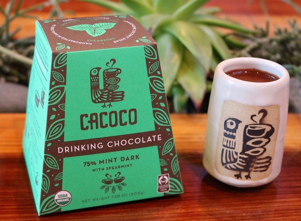 CACOCO, drinking chocolate, healthy drink options, online farmer's market