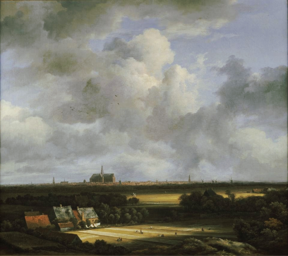 View of Haarlem with Bleaching Fields   (c. 1670–1675), Jacob van Ruisdael, courtesy of The Frick Collection.