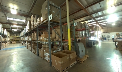 Fulfillment & Shipping/Receiving Area