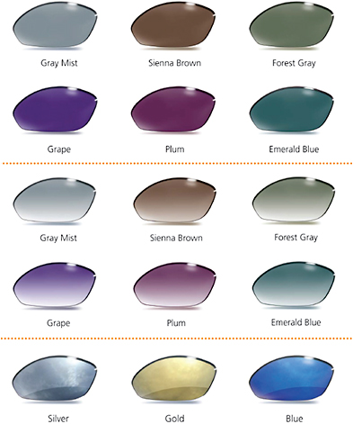 Tinted Lenses - Custom Diamond Tint Colors