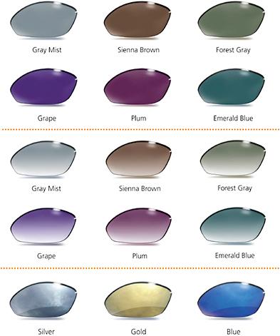 Tinted Lenses - Custom Diamond Tint Colors