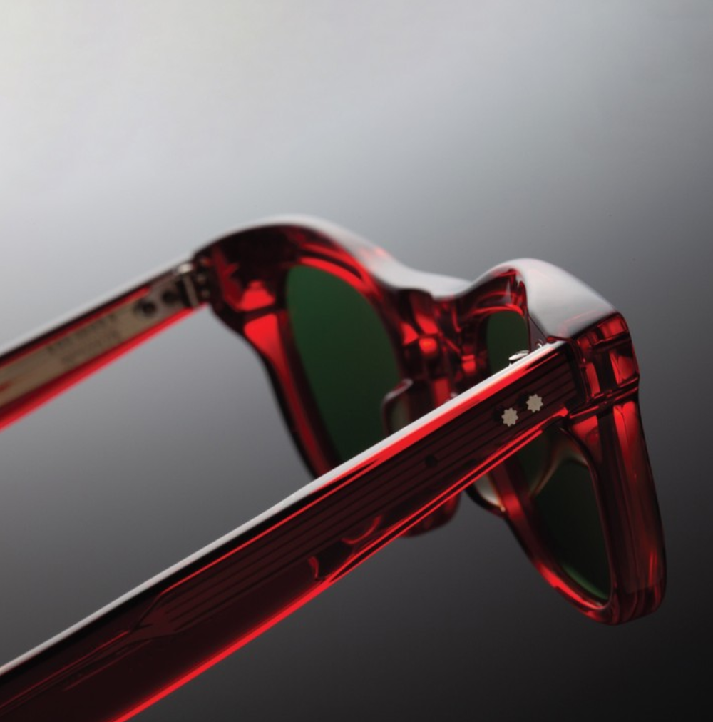 Jacques Marie Mage - Red Sunglasses by French Designer Jerome Mage