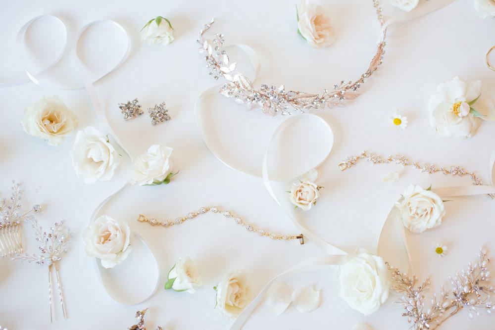 Untamed Petals Product shoot - Untamed Petals Bridal AccessoriesSan Luis Obispo,CA