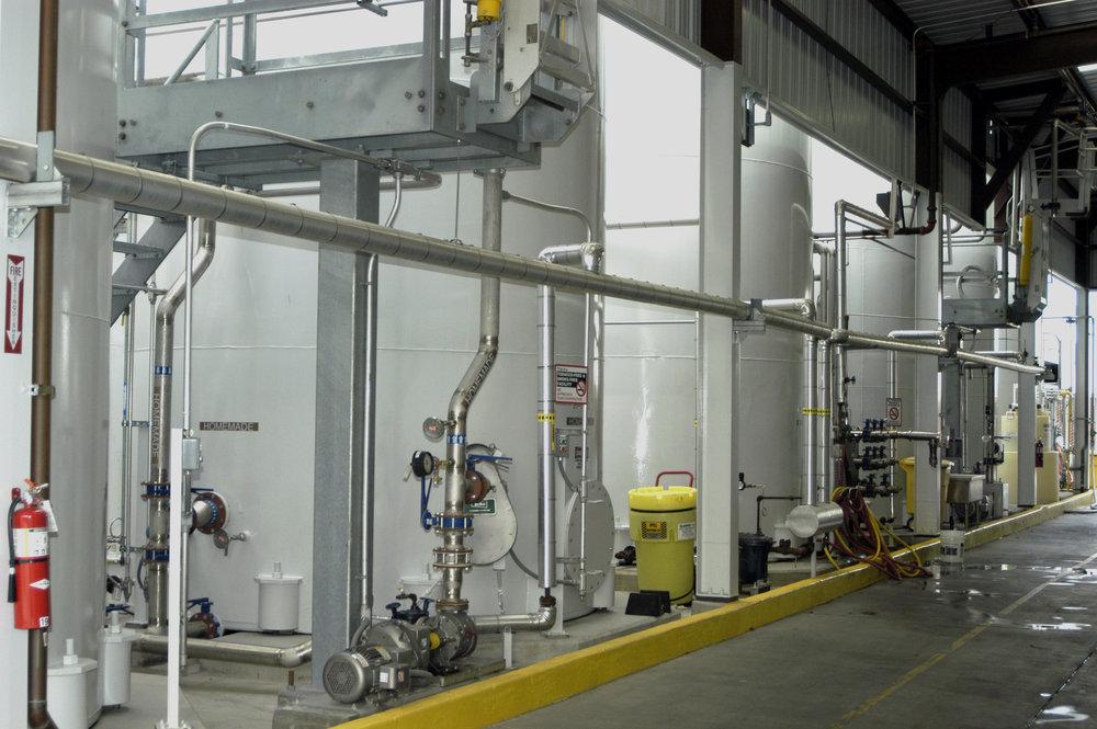 Minnesota Corn Products Washing Station