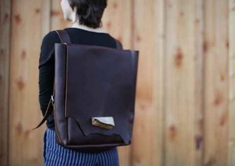 Our daypack in chocolate #fiveeighteenbags