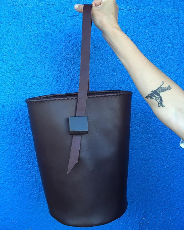 We were too busy on 5/18 drinking rosé and sewing to post on social media, but we did make this! A new design in honor of Mom's birthday - We're almost sure that this bucket bag contains just as much sass and sophistication as the woman behind the inspiration. #fiveeighteenbags #comingsoon