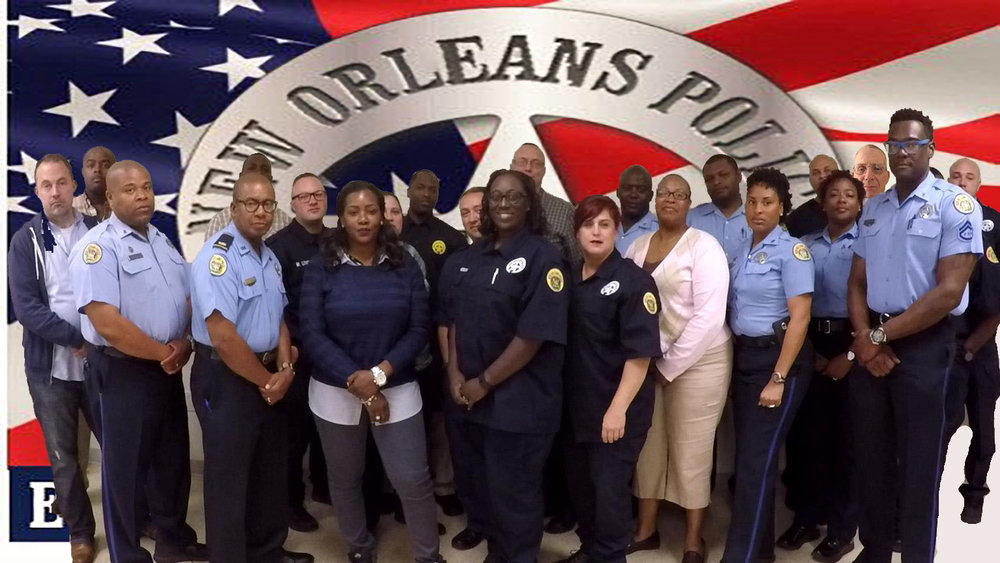 1st Class of Peer Intervention Instructors - New Orleans Police   March 2016.