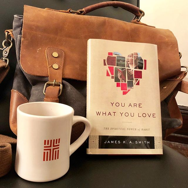 If you are planning on joining us for our first meeting of Summer Book Club, make sure to order your book. This month, we are reading James K.A. Smith's You Are What You Love. Come Tuesday, June 26 at 6 p.m. to dialogue with us!