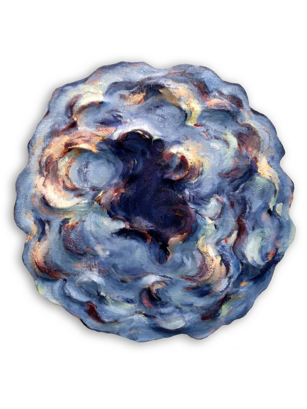 Untitled (Ultramarine Round)