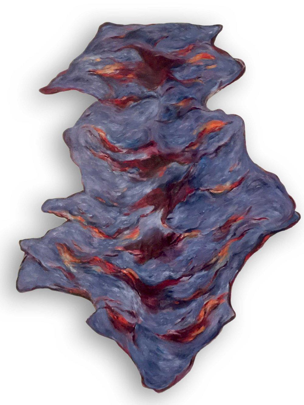 Untitled (Purple Evergreen)