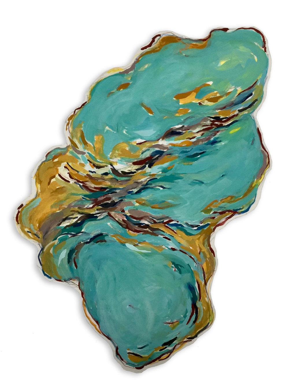 Untitled (Aquamarine)