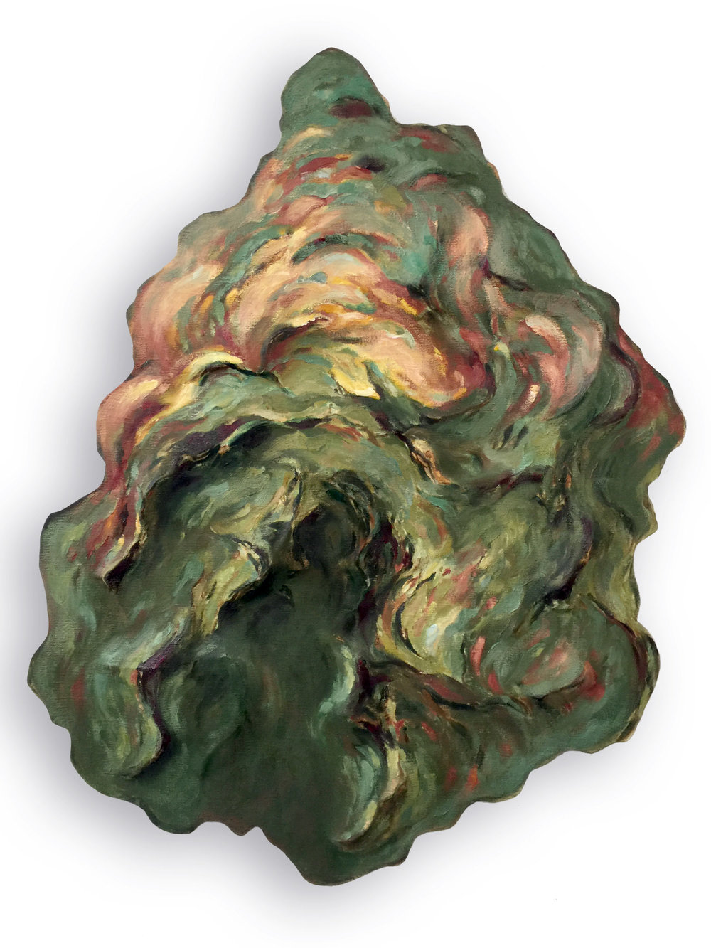 Untitled (Green Pinecone)