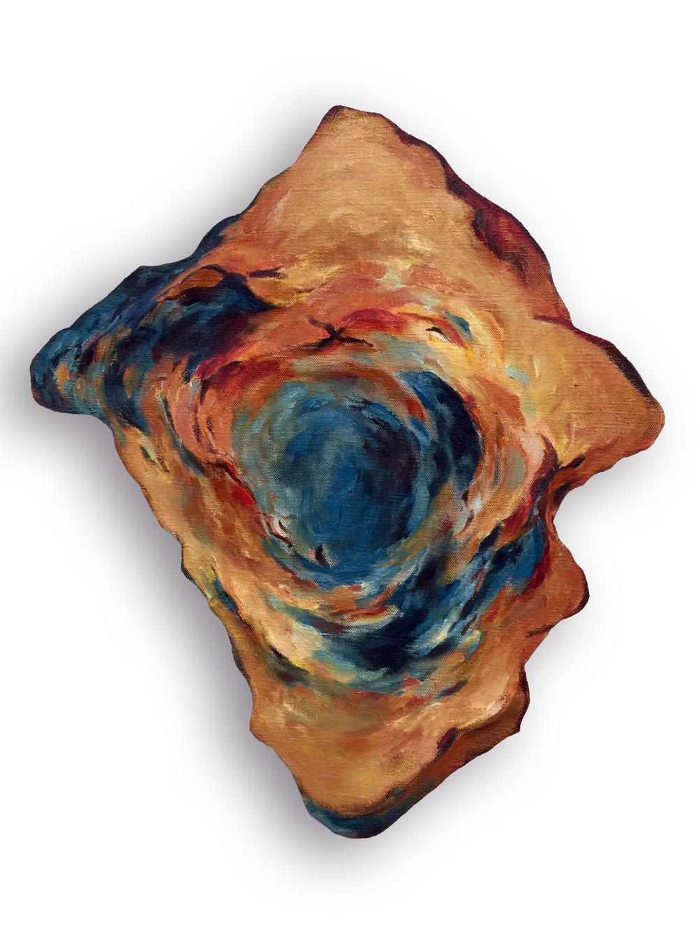 Untitled (Blue Center)